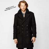 Ralph Lauren officer coat