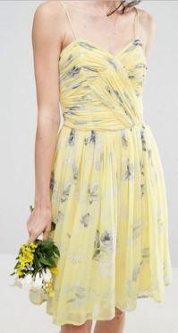 Asos Wedding Rouched Midi Dress
