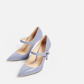Zara Blue Shoes