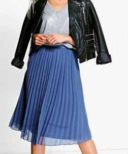 Boohoo - Chiffon Midi Skirt