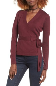 Nordstrom - Wrap Sweater