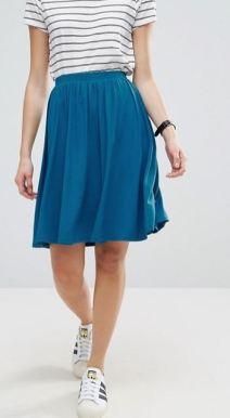 Midi Skate Skirt - Asos