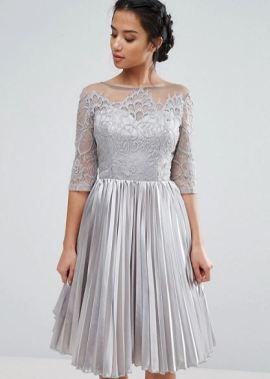 Chi Chi Londo Allower Lace Top Prom Dress