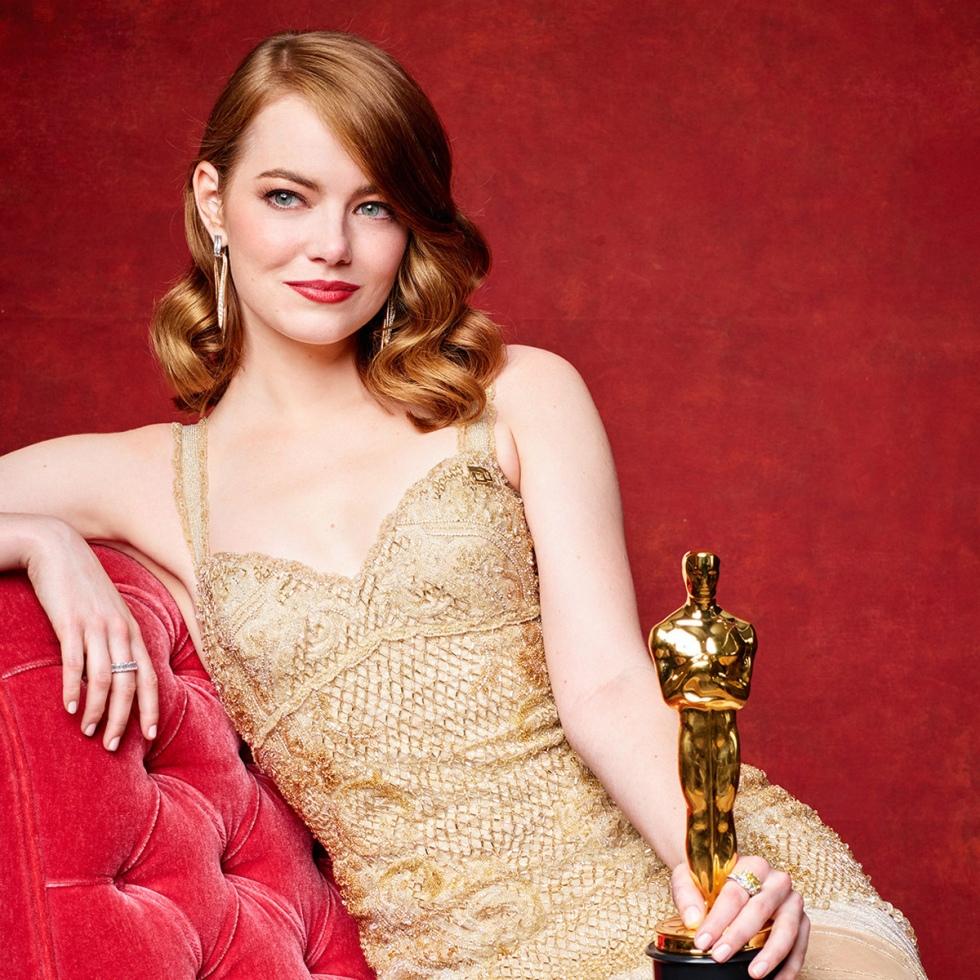 Emma Stone 2017 Oscar