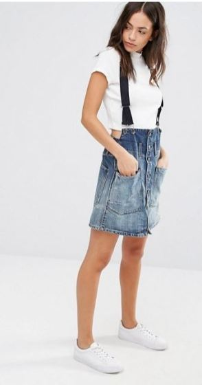 G-star Dadin A-line Skirt - Asos
