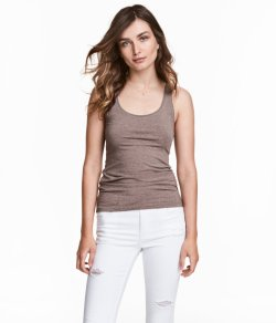 Basic Top - H&M