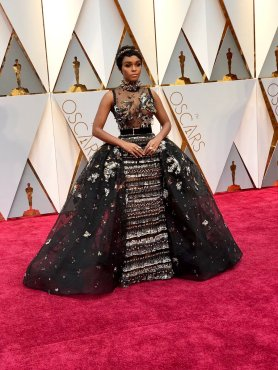 Janelle Monae - Elie Saab dress & Forevermark jewellery