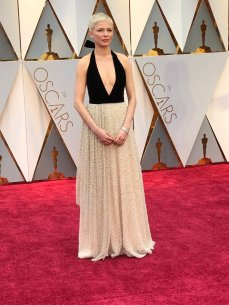 Michelle Williams - Louis Vuitton dress