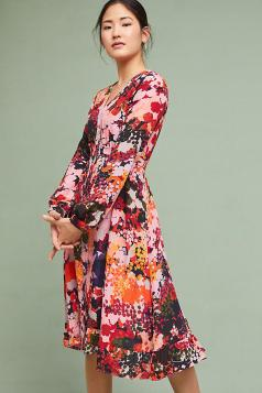 Anthropologie - Printed Dress