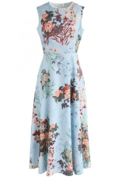 Chichwish - Floral Sleveless Dress
