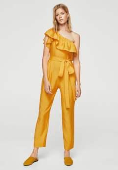 jumpsuit-mustard-bonny-mango-zalando
