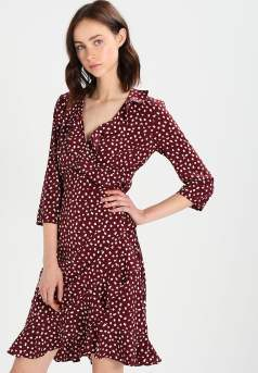 Zalando/Vero Moda - Printed Red Dress