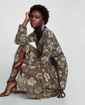 Zara - Printed Dress