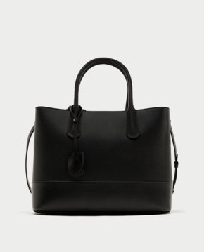 Zara Black Handbag