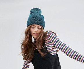 Asos - Blue Whool Hat